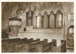 THE PULPIT, MONK'S REFECTORY, PARISH CHURCH
