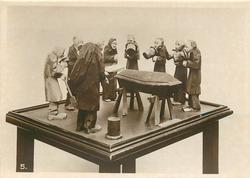 WOODEN FIGURES-A SWEDISH BURIAL