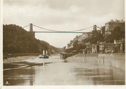 SUSPENSION BRIDGE FROM HOTWELLS