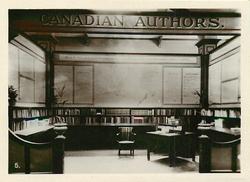 CANADIAN AUTHORS EXHIBIT, CANADIAN PAVILION, B.E.E. WEMBLEY