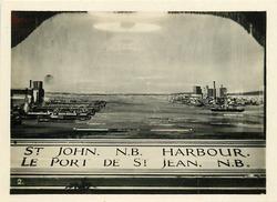 PORT OF ST. JOHN, NEW BRUNSWICK