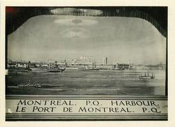 PORT OF MONTREAL, PROVINCE OF QUEBEC