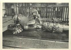EFFIGY OF THE BLACK PRINCE IN BRONZE & GOLD