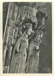EFFIGIES OF KING HENRY IV AND HIS QUEEN