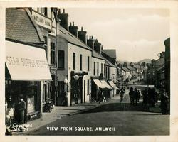 VIEW FROM THE SQUARE, AMLWCH