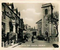 ELETH HOTEL AND CHURCH, AMLWCH