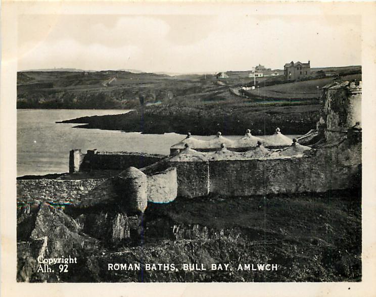 ROMAN BATHS, BULL BAY, AMLWCH