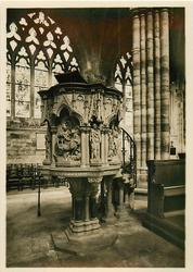THE NAVE PULPIT, EXETER CATHEDRAL