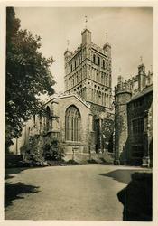 SOUTH TOWER AND CHAPTER HOUSE, EXETER CATHEDRAL