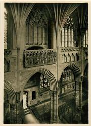 THE MINSTREL'S GALLERY, EXETER CATHEDRAL