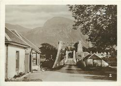 LOCHY SUSPENSION BRIDGE AND BEN NEVIS