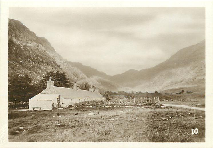 AT THE HEAD OF GLEN NEVIS