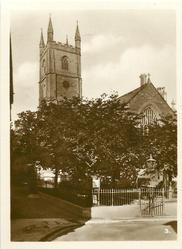 THE CHURCH, FOWEY