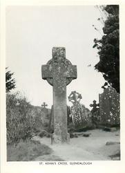 ST. KEVIN'S CROSS, GLENDALOUGH