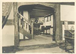 STAIRCASE AND BACK ROOM, GROUND FLOOR