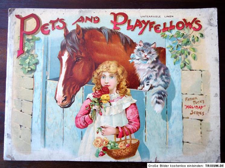 PETS AND PLAYFELLOWS
