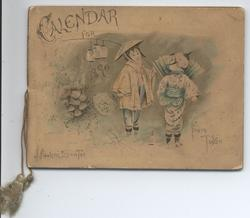CALENDAR FOR 1890 FROM TOKIO