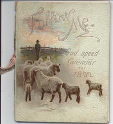 FOLLOW ME GOD SPEED CALENDAR FOR 1892