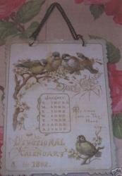DAILY GRACE DEVOTIONAL CALENDAR FOR 1892