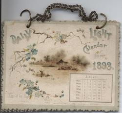 DAILY LIGHT CALENDAR FOR 1893