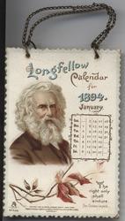 THE LONGFELLOW CALENDAR FOR 1894