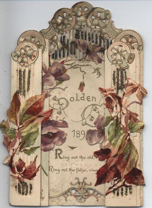 GOLDEN CHIMES CALENDAR FOR 1895