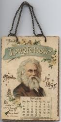 THE LONGFELLOW CALENDAR FOR 1895