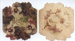 MIZPAH CALENDAR FOR 1896