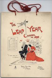 THE LEAP YEAR CALENDAR FOR 1896