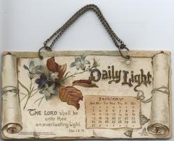 DAILY LIGHT CALENDAR FOR 1897