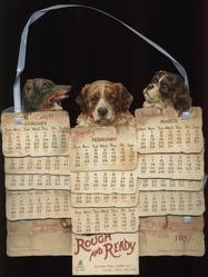 ROUGH AND READY CALENDAR FOR 1897