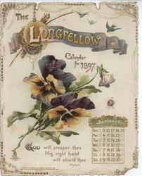 THE LONGFELLOW CALENDAR FOR 1897