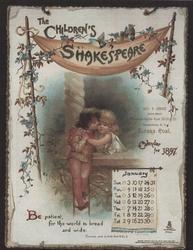 THE CHILDREN'S SHAKESPEARE CALENDAR FOR 1897