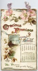 GRACIOUS PROMISES CALENDAR FOR 1898
