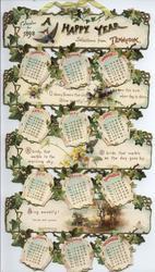 A HAPPY YEAR CALENDAR FOR 1898