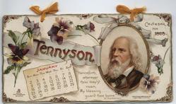 TENNYSON CALENDAR FOR 1898