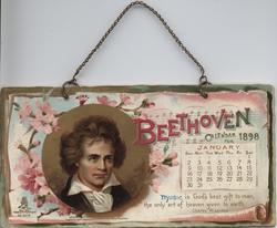 BEETHOVEN CALENDAR FOR 1898