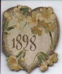 1898 yellow flowers
