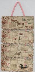 HOLY TRUTHS CALENDAR FOR 1899