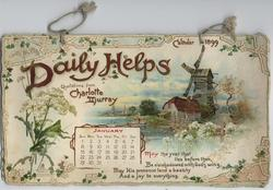 DAILY HELPS CALENDAR FOR 1899