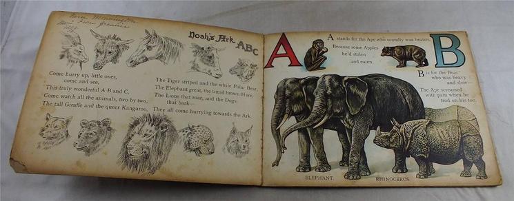 FATHER TUCK'S NOAH'S ARK ABC