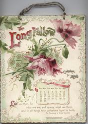 THE LONGFELLOW CALENDAR FOR 1898