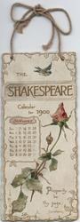 THE SHAKESPEARE CALENDAR FOR 1900