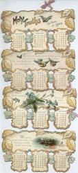 HOLY TRUTHS CALENDAR FOR 1900