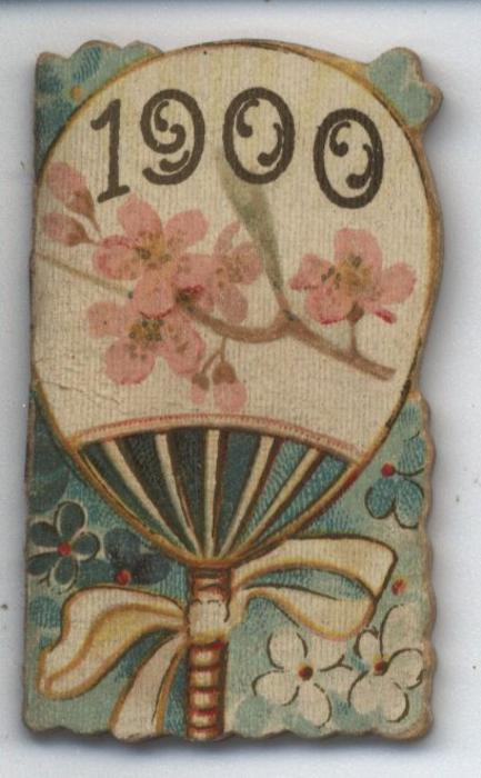 1900 hand fan