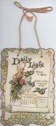 DAILY LIGHT CALENDAR FOR 1900