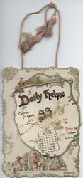 DAILY HELPS CALENDAR FOR 1900