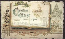 THE CHRISTIAN GRACES CALENDAR FOR 1900