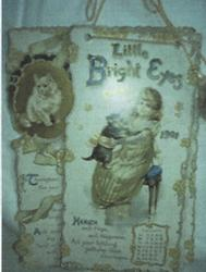 LITTLE BRIGHT EYES CALENDAR FOR 1901