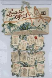 FRIENDSHIP'S OFFERING CALENDAR FOR 1901